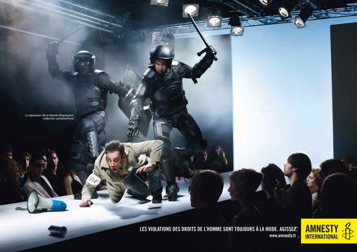 Amnesty International / catwalk
