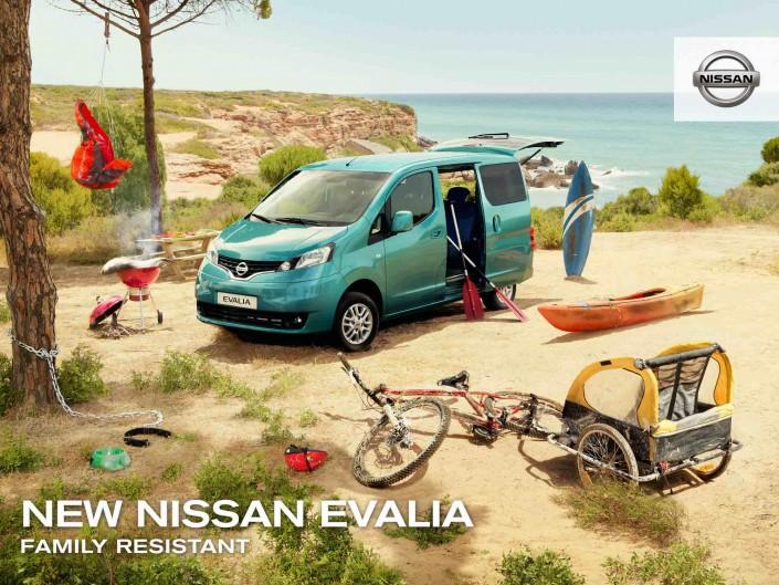 nissan / evalia spain