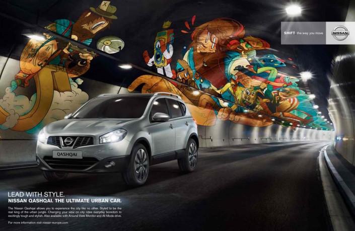 Nissan / Qashqai Tunnel