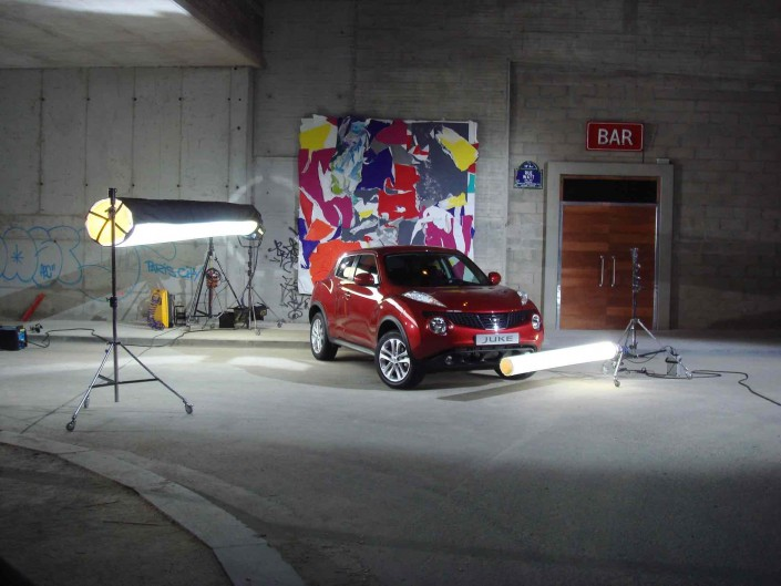 shoot Nissan Juke